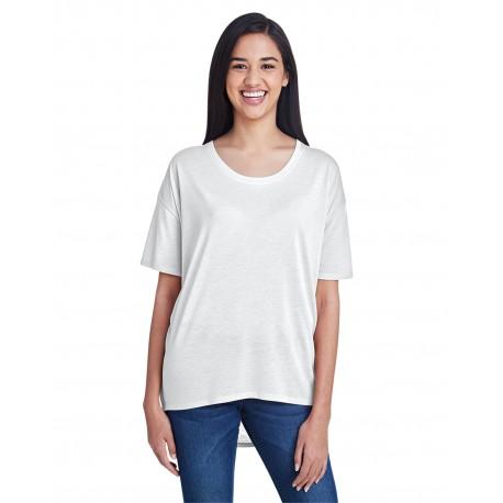 36PVL Anvil 36PVL Ladies' Freedom T-Shirt WHITE