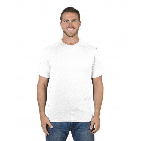 460R Jerzees 460R Adult 4.6 oz. Premium Ringspun T-Shirt WHITE