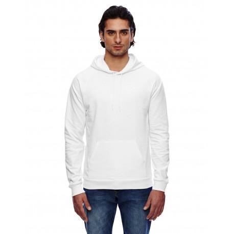 5495W American Apparel 5495W Unisex California Fleece Pullover Hoodie WHITE