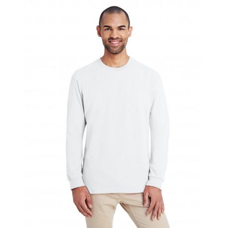 H400 Gildan H400 ADULT Hammer Adult 6 oz. Long-Sleeve T-Shirt WHITE