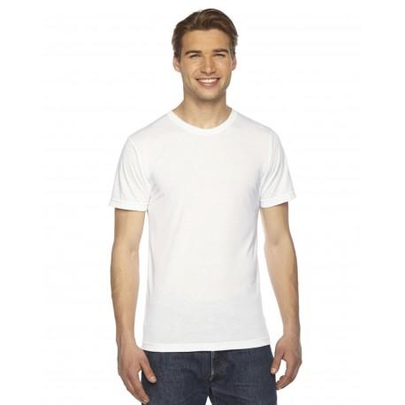 PL401W American Apparel PL401W Unisex Sublimation T-Shirt WHITE