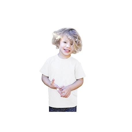 US2001K US Blanks US2001K Toddler Organic Cotton Crewneck T-Shirt WHITE