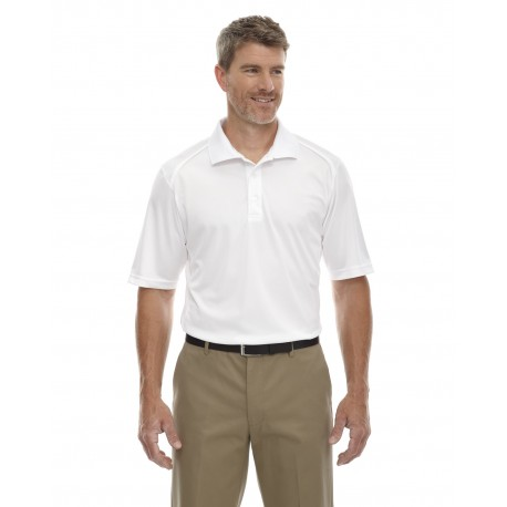 85108T Extreme 85108T Men's Tall Eperformance Shield Snag Protection Short-Sleeve Polo WHITE 701