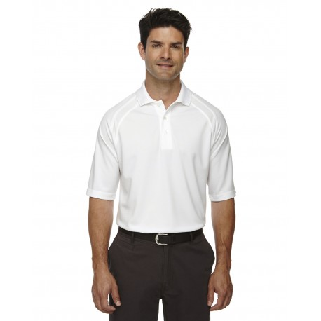 85093 Extreme 85093 Men's Eperformance Ottoman Textured Polo WHITE 701