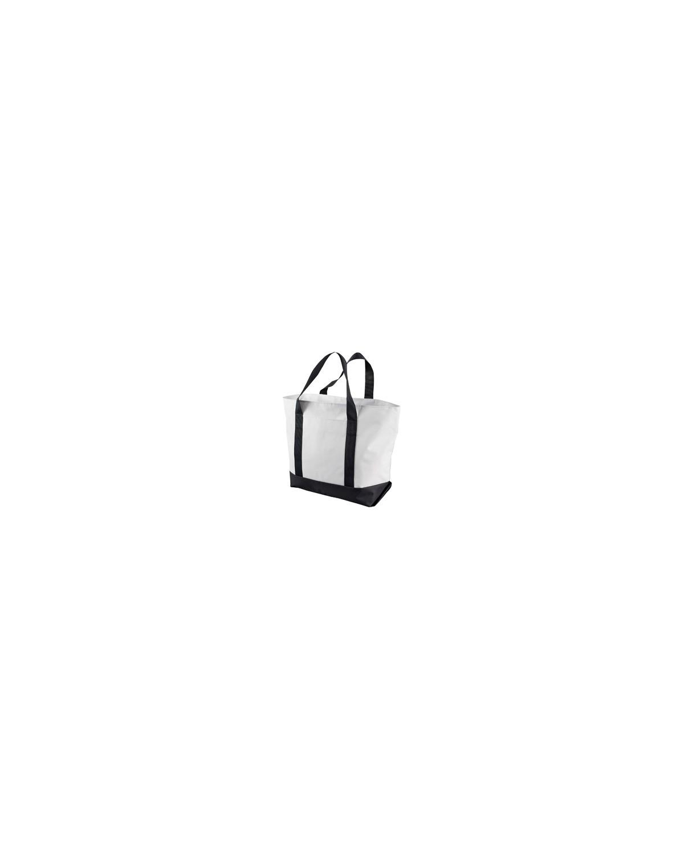 7006 Liberty Bags WHITE/BLACK