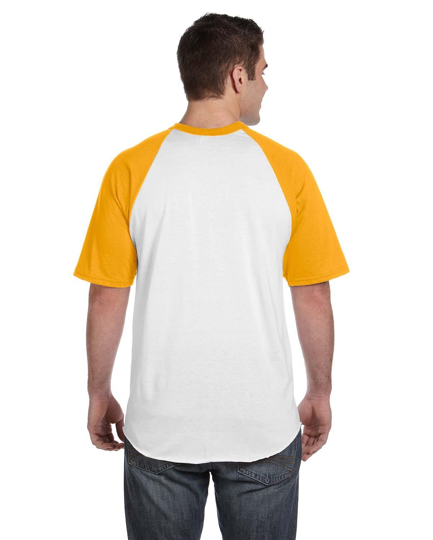 423 Augusta Sportswear WHITE/GOLD