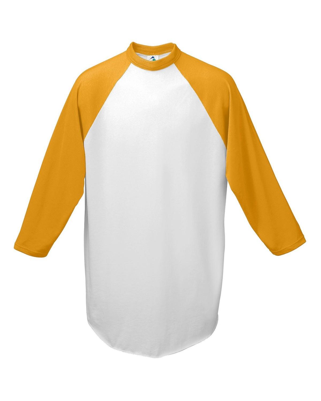 AG4420 Augusta Sportswear WHITE/GOLD