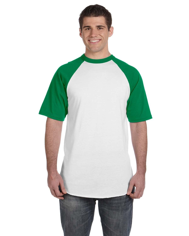 423 Augusta Sportswear WHITE/KELLY