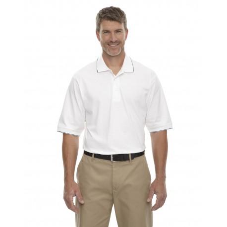 85032 Extreme 85032 Men's Cotton Jersey Polo WHITE/NAVY W07