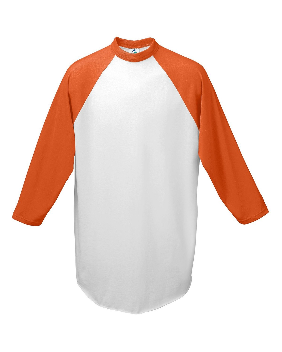 AG4420 Augusta Sportswear WHITE/ORANGE