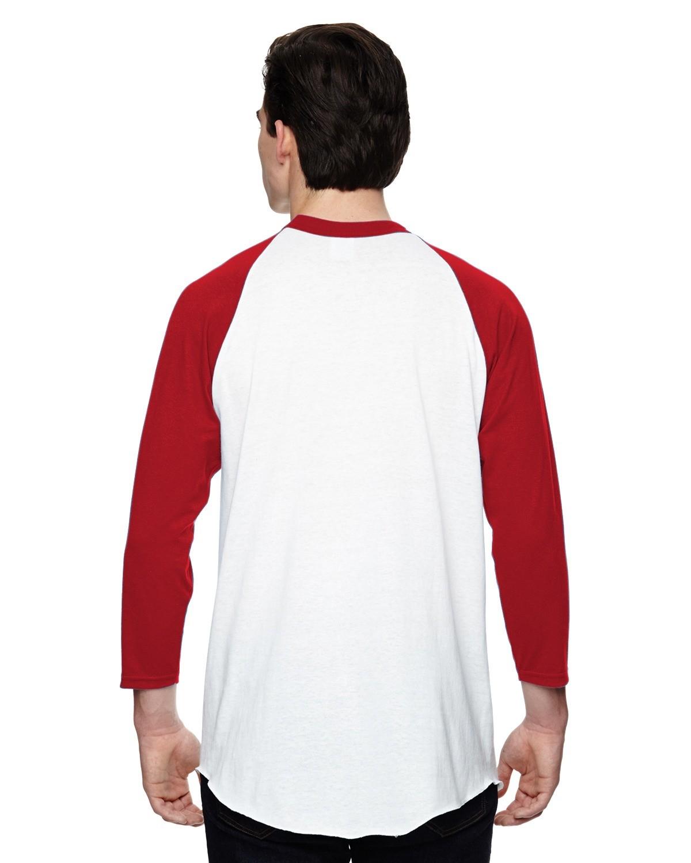 AG4420 Augusta Sportswear WHITE/RED