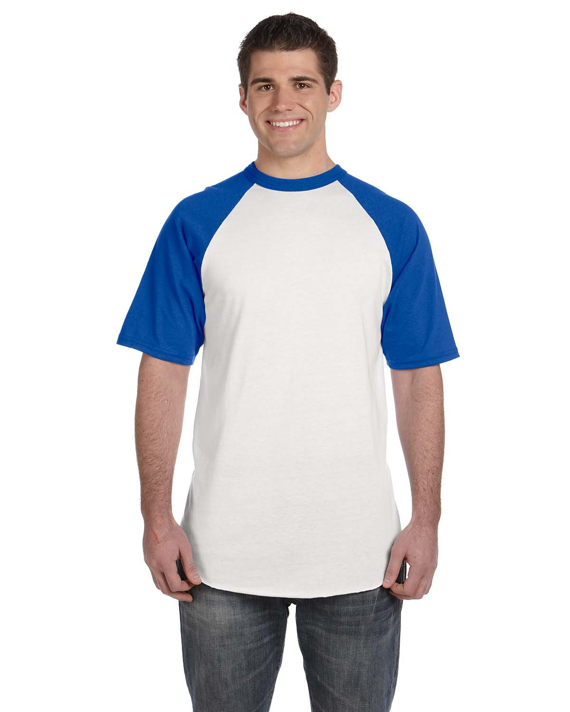 423 Augusta Sportswear WHITE/ROYAL