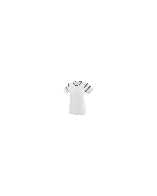 3011 Augusta Sportswear WHITE/SLATE/WH