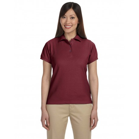 M280W Harriton M280W Ladies' 5 oz. Blend-Tek Polo WINE