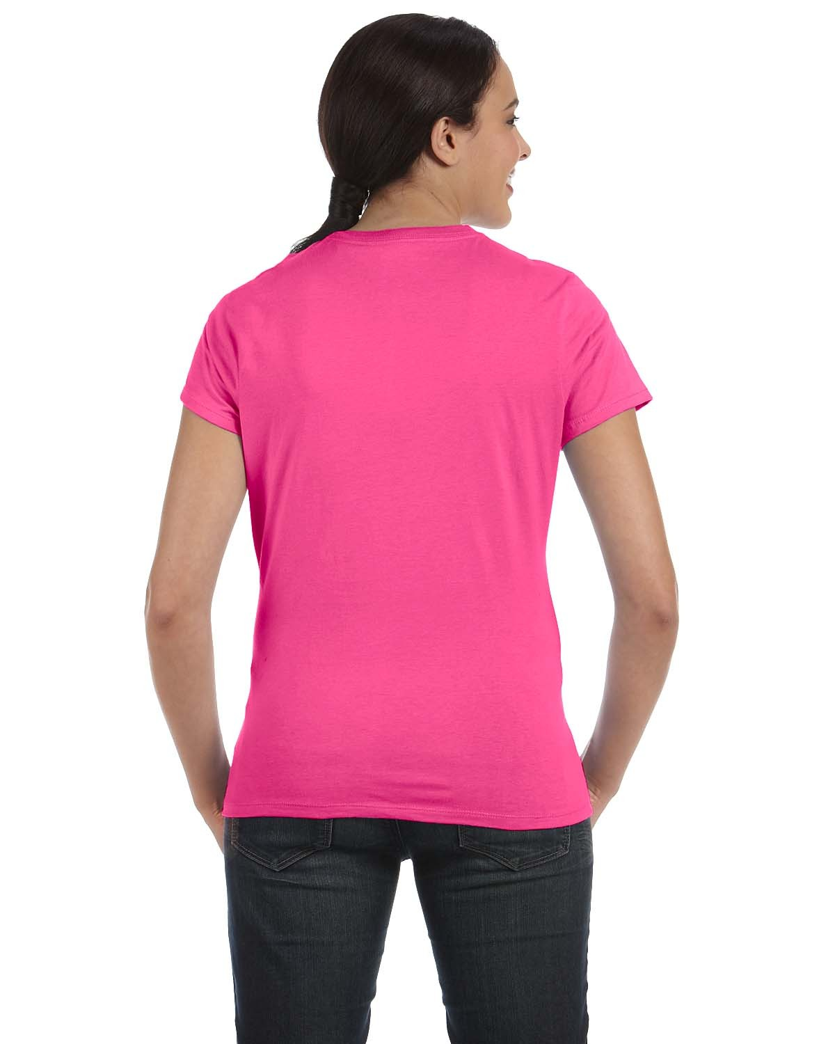 SL04 Hanes WOW PINK