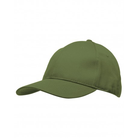 BA3660 Bayside BA3660 Chino Twill Structured Cap OLIVE
