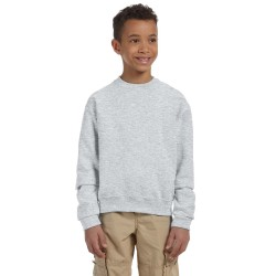 Jerzees 562B Youth 8 oz. NuBlend Fleece Crew