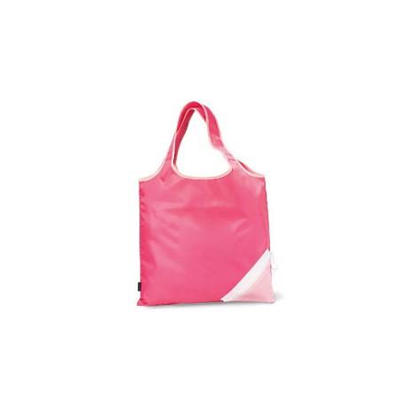 1182 Gemline 1182 Latitiudes Foldaway Shopper Tote PEONY PK/ DP PNK