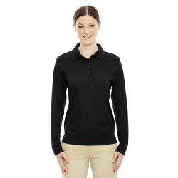 Core 365 78192 Ladies' Pinnacle Performance Long-Sleeve Pique Polo