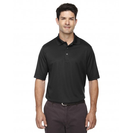 88181T Core 365 88181T Men's Tall Origin Performance Pique Polo BLACK 703