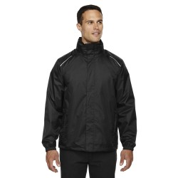 Core 365 88185 Men's Climate Seam-Sealed Lightweight Variegated Ripstop Jacket