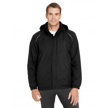 88189 Core 365 88189 Men's Brisk Insulated Jacket BLACK 703