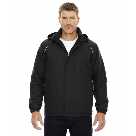 88189T Core 365 88189T Men's Tall Brisk Insulated Jacket BLACK 703