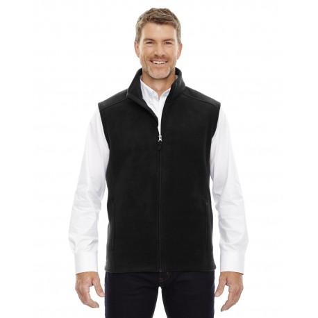 88191T Core 365 88191T Men's Tall Journey Fleece Vest BLACK 703