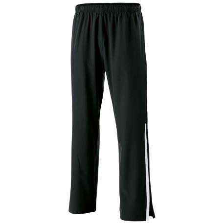 229544 Holloway 229544 Unisex Weld 4-Way Stretch Warm-Up Pant BLACK/ WHITE