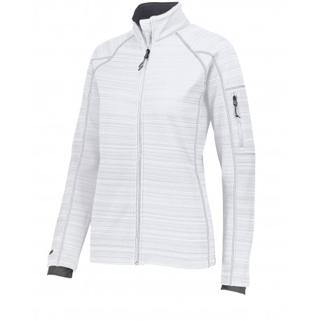 229739 Holloway 229739 Ladies' Dry-Excel Bonded Polyester Deviate Jacket WHITE