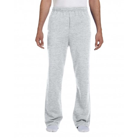 974MP Jerzees 974MP Adult 8 oz. NuBlend Open-Bottom Fleece Sweatpants ASH