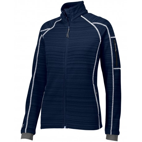 229739 Holloway 229739 Ladies' Dry-Excel Bonded Polyester Deviate Jacket NAVY