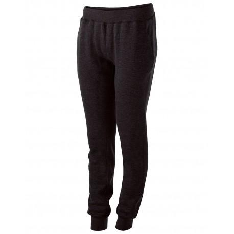 229748 Holloway 229748 Ladies' Athletic Fleece Jogger Sweatpant BLACK