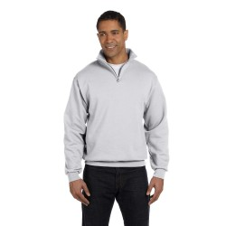 Jerzees 995M Adult 8 oz. NuBlend Quarter-Zip Cadet Collar Sweatshirt