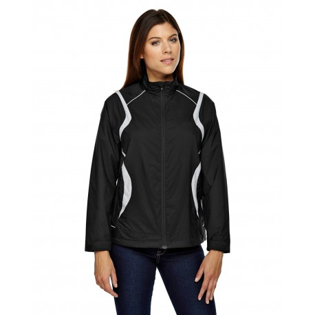78167 North End 78167 Ladies' Venture Lightweight Mini Ottoman Jacket BLACK 703