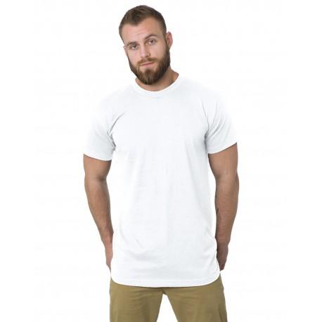 BA5200 Bayside BA5200 Tall 6.1 oz., Short Sleeve T-Shirt WHITE
