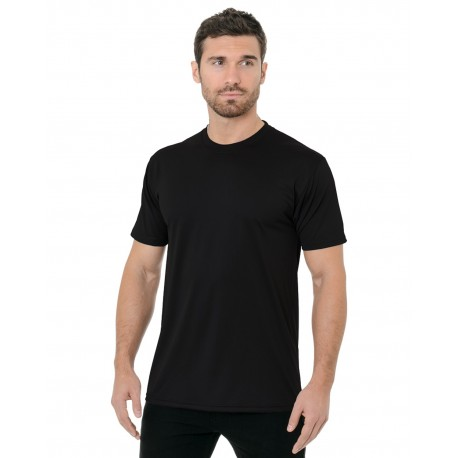 BA5300 Bayside BA5300 Unisex 4.5 oz., Polyester Performance T-Shirt BLACK