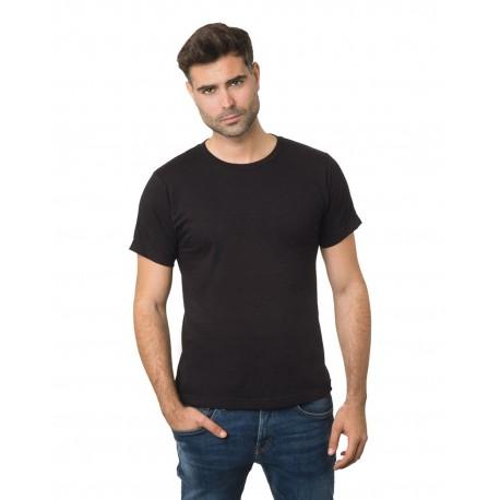 BA9500 Bayside BA9500 Unisex 4.2 oz., 100% Cotton Fine Jersey T-Shirt BLACK