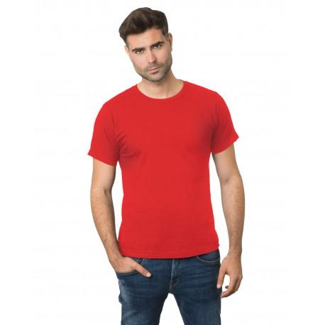 BA9500 Bayside BA9500 Unisex 4.2 oz., 100% Cotton Fine Jersey T-Shirt RED