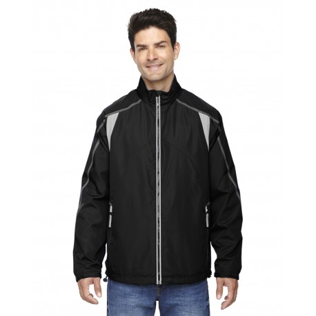 88155 North End 88155 Men's Endurance Lightweight Colorblock Jacket BLACK 703