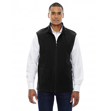 88173 North End 88173 Men's Voyage Fleece Vest BLACK 703