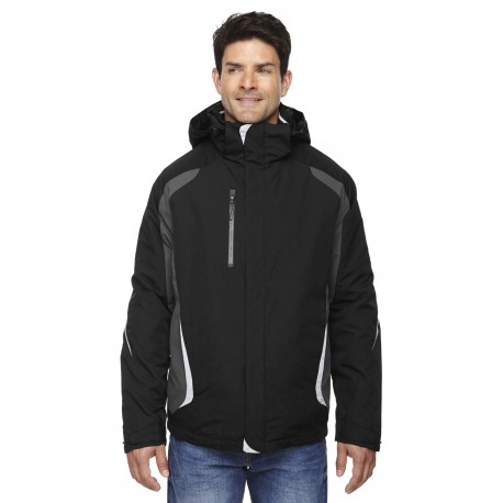 88195 North End 88195 Men's Height 3-in-1 Jacket with Insulated Liner BLACK 703