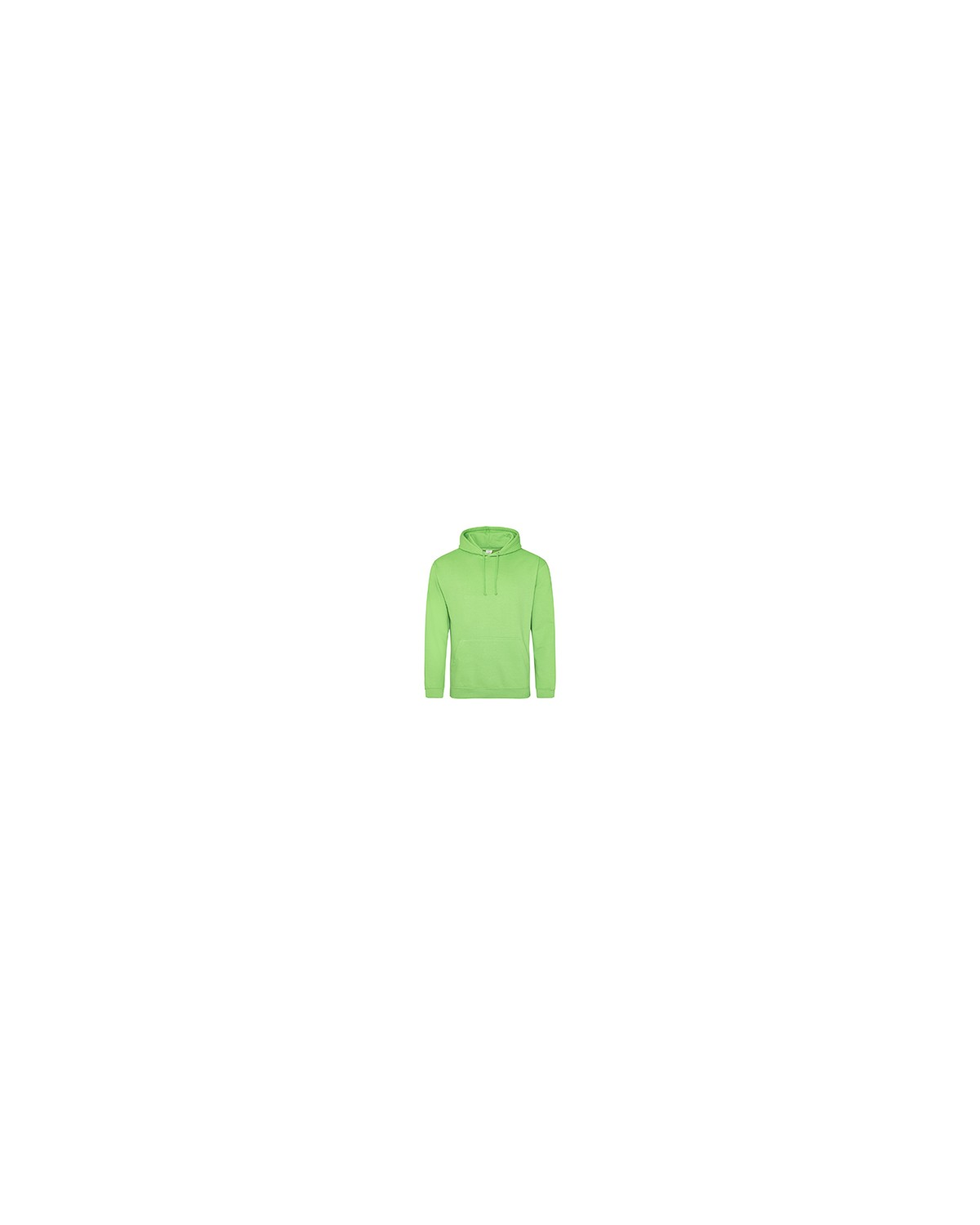 JHA001 Just Hoods By AWDis LIME GREEN