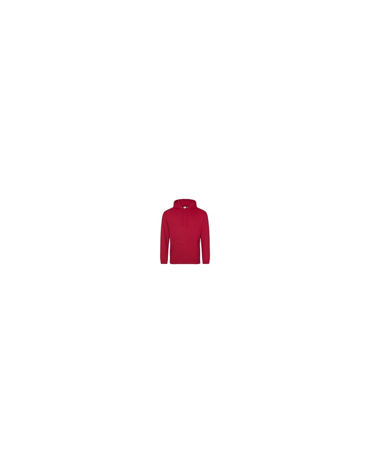 JHA001 Just Hoods By AWDis FIRE RED