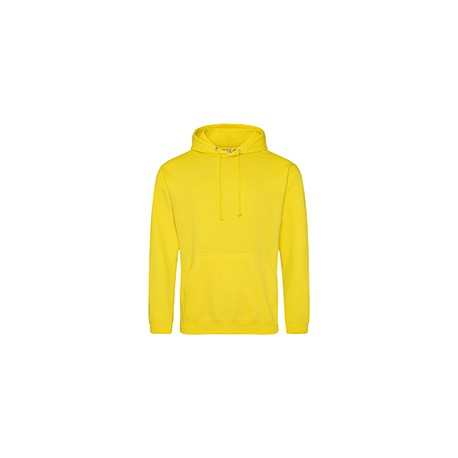 JHA001 Just Hoods By AWDis JHA001 Men's 80/20 Midweight College Hooded Sweatshirt SUN YELLOW