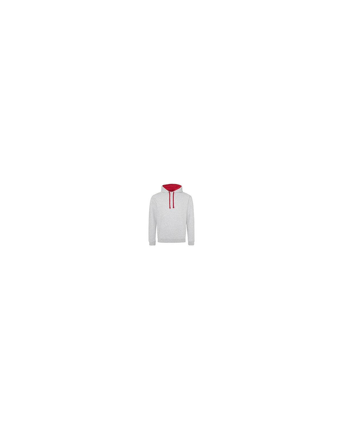 JHA003 Just Hoods By AWDis HTH GRY/ FIRE RD
