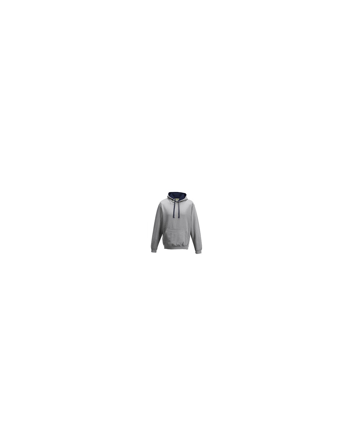 JHA003 Just Hoods By AWDis HTH GRY/ FRN NVY