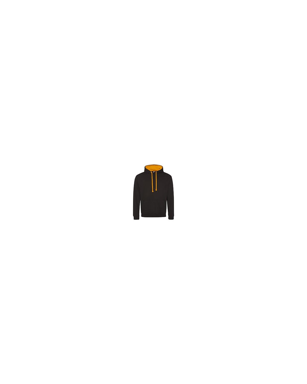 JHA003 Just Hoods By AWDis JT BLK/ ORN CRSH