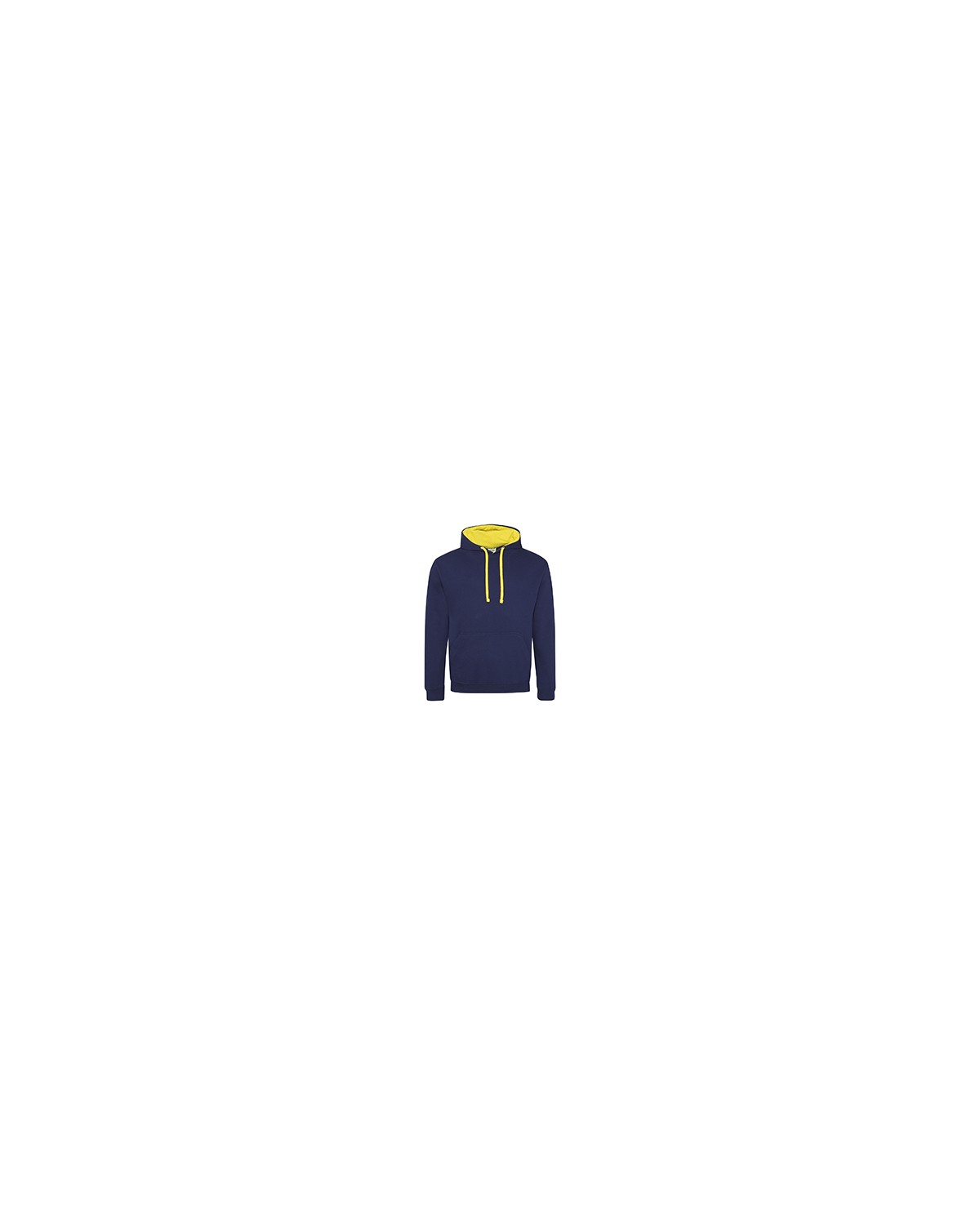 JHA003 Just Hoods By AWDis OXF NVY/ SUN YLW