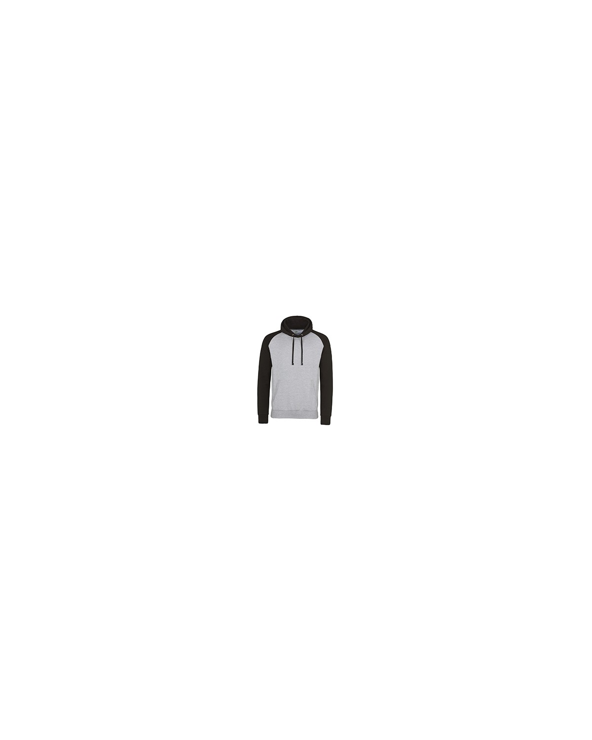 JHA009 Just Hoods By AWDis HTH GRY/ JET BLK
